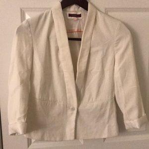 Bershka Jackets & Coats - White jacket